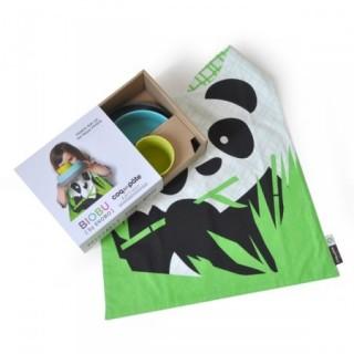 Set enfant Panda Biobu et Coq en Pâte