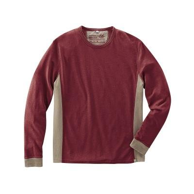 T-shirt Hempage modèle joseph couleur chataîgne