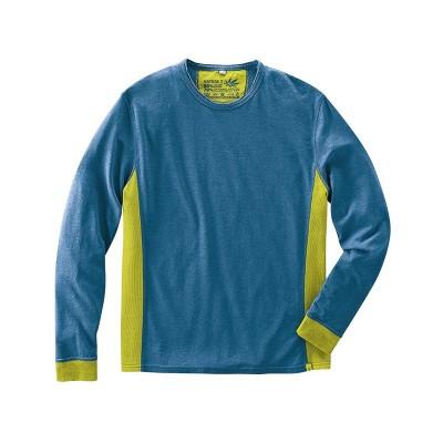 T-shirt Hempage modèle Joseph couleur mer