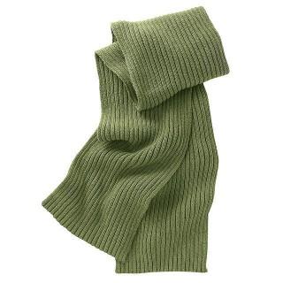 "Echarpe """"Rési"" Hempage vert feuille"