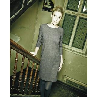 Robe vintage en chanvre et coton bio Andréa