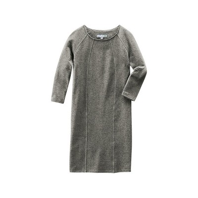 "Robe ""Andréa"" Hempage gris chiné"