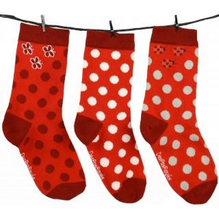 Chaussettes enfant loufoques de la marque DesPasRayés