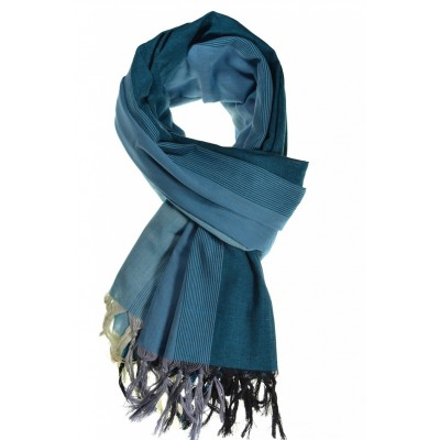 Cheche foulard camaieu bleu - Sao-Bio 8dd9963e5dcc