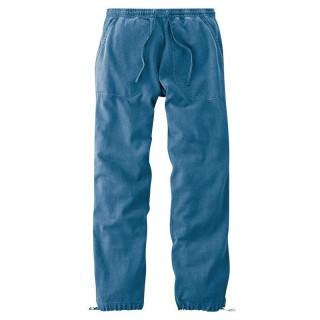 Pantalon de jogging bleu chanvre et coton bio
