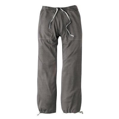 Pantalon de jogging couleur asphat chanvre et coton bio