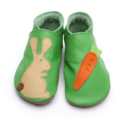 CHAUSSONS CUIR SOUPLE STARCHILD rabbit