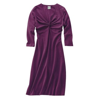 Robe kleid prune XL