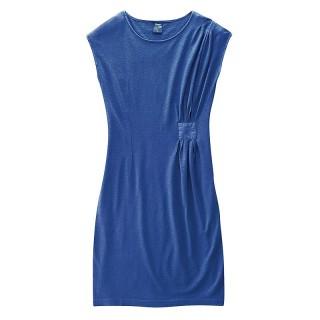 Robe bleue chanvre et coton bioJessy