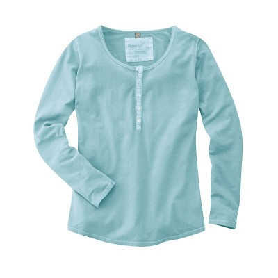 """Tee shirt tunisien """"Paméla"""" couleur turquoise"""