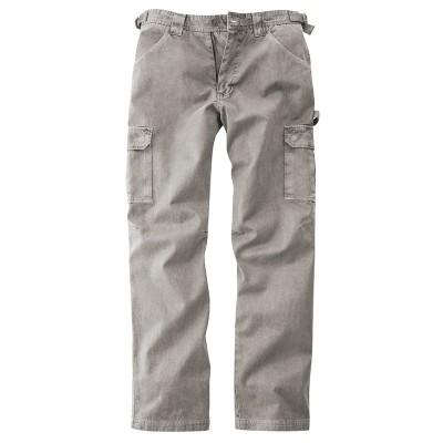 pantalon coton bio chanvre homme gris mud