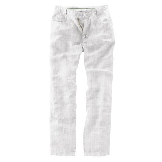 "pantalon vintage""métro"" white"