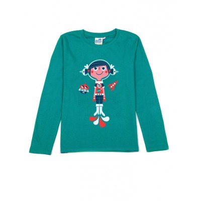 T-shirt vert Cosmic Girl