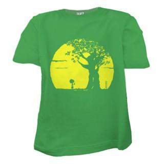 Tee-shirt Pousse vert