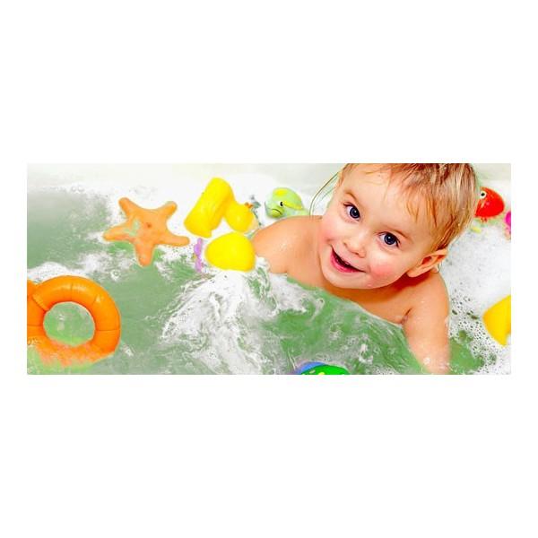 Couleurs pour le bain par 9 pastilles sao bio for Rack pour le bain
