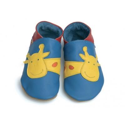 Georges girafe bleu