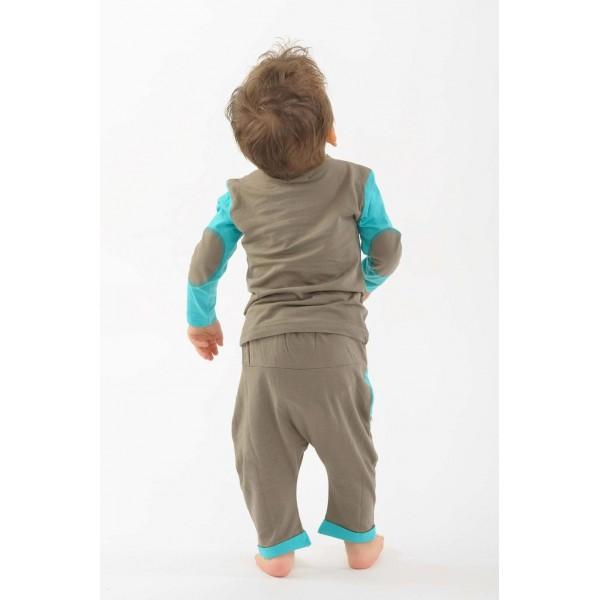 5e1089b692b33 Pantalon sarouel kid kaki  Pantalon sarouel kid kaki
