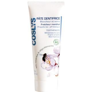 Pâte dentifrice blancheur et soin bio