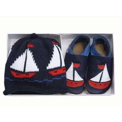 Set cadeau chaussons volier et bonnet