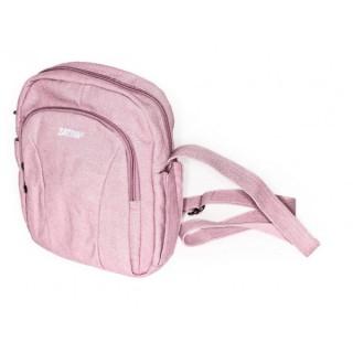 Petit sac bandoulière arrondi rose