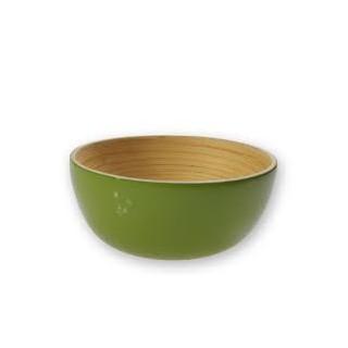 Bol laqué vert ekobo