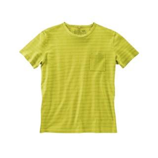 T-shirt rayures ton sur ton chanvre coton bio Julian