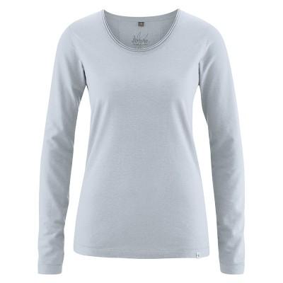 Haut coton et chanvre platine tee-shirt femme