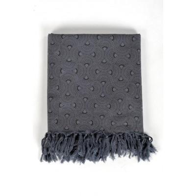 96727330bd3e Cheche foulard gris et noir - Sao-Bio