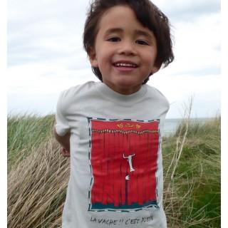Tee-shirt enfant bio TEE-SAO