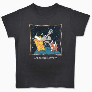 Tee-shirt bio Les observantes