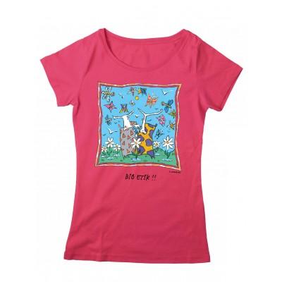 Tee-shirt femme hibiscus Granville