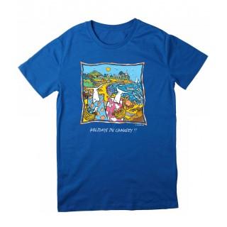 Tee-shirt bleu îles Chausey