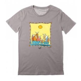 Tee-shirt gris clair +2°