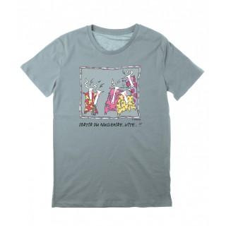 Tee-shirt bleu citadelle Sortir du nucléaire