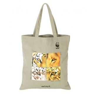Sac courses chanvre coton bio WWF