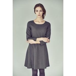 Robe manches longues chanvre coton bio Clarice