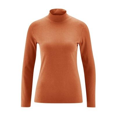 Tee-shirt col montant fox coton bio chanvre