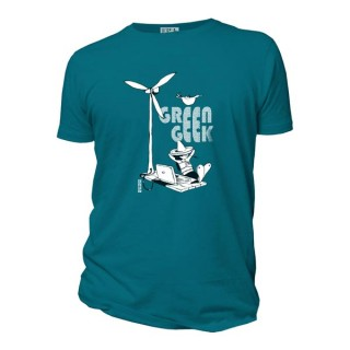 Tee shirt bio Green geek