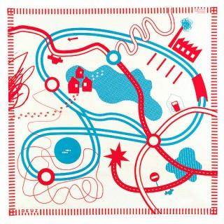 Tapis de jeux coton bio thème Circuit