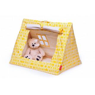 Mini tente coton bio jaune
