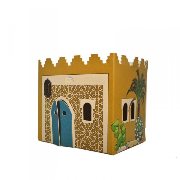 Veilleuse maison carton maroc moyen orient sao bio - Maison carton enfant ...