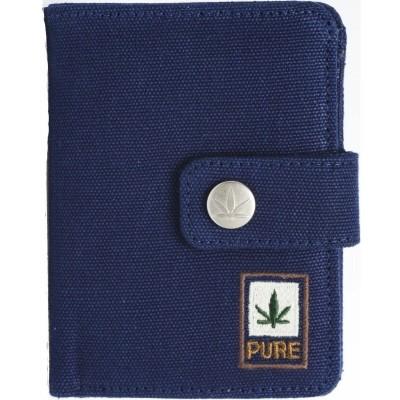 Portefeuille porte-monnaie bleu marine