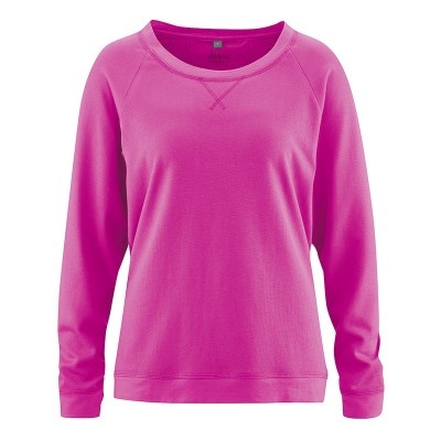 Sweat femme bio col rond couleur candy