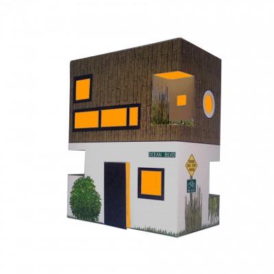 Veilleuse carton maison New York