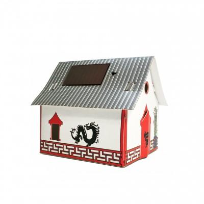 Veilleuse carton maison Chine