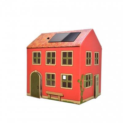 Veilleuse carton maison Italie