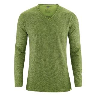 T-shirt manches longues Volker vert