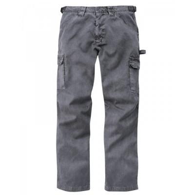 Pantalon cargo homme chanvre et coton bio Bleu graphite