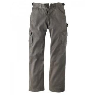Pantalon cargo gris asphalt coton bio chanvre