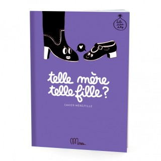 Cahier d'exercices mère fille: Telle mere telle fille